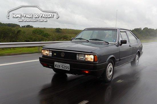 Passat GL Village 1987 viajando para o Salão do Automóvel