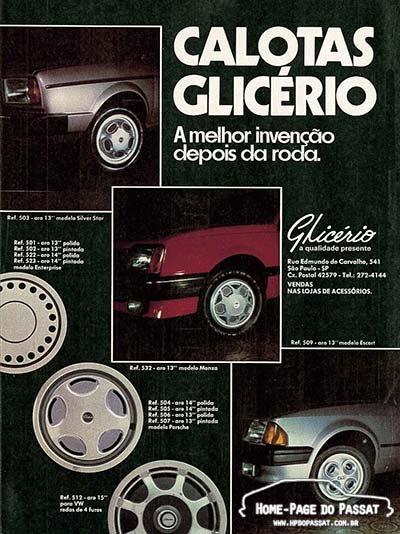 Calotas Glicério - Setembro de 1984