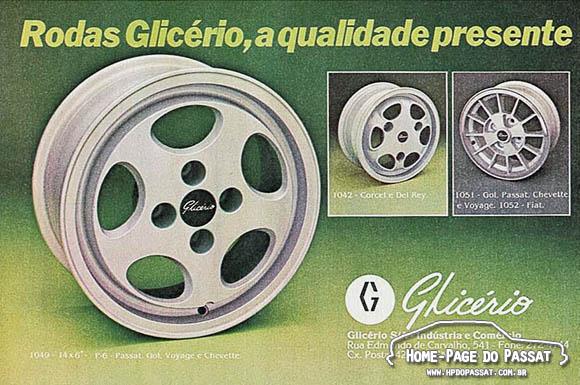 Rodas Glicério - Novembro de 1981