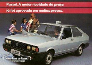 Passat Special - No folder, como táxi.