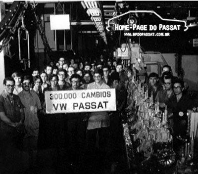 300.000 câmbios do Passat