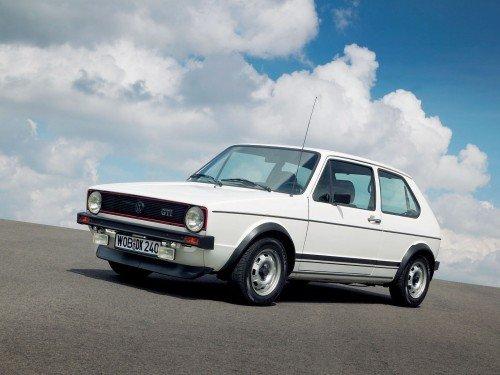 Golf GTI mkI, cultuado até pela própria VW.