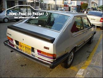 Aerofólio do Passat GTS 1983