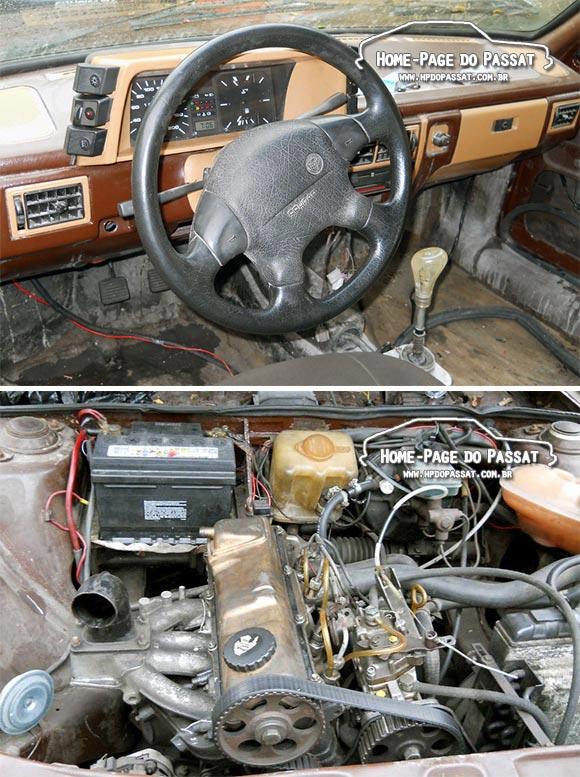 Passat TS diesel pick-up