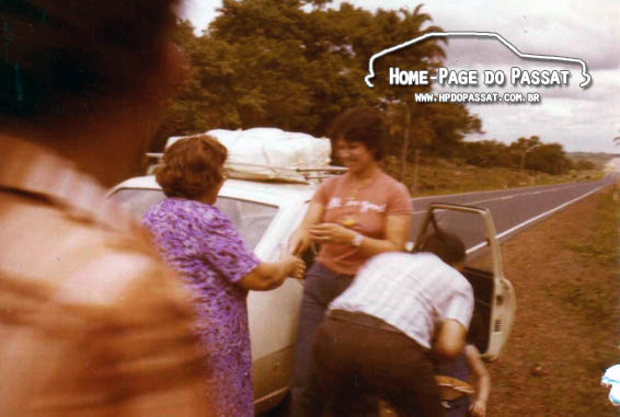 Foto antiga: Passat 1977 na estrada