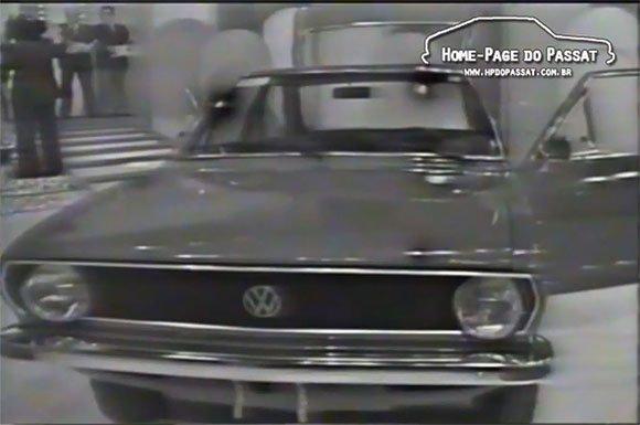 Sorteio de um Passat no Troféu Imprensa 1976