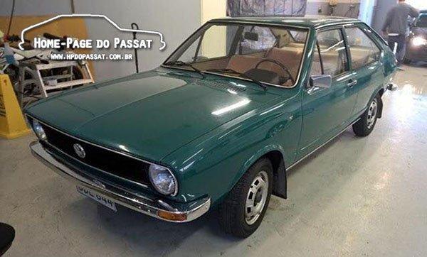 Passat LS 1.3 1974 - Finlândia