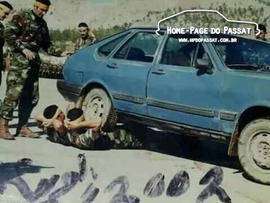 Passat no Iraque - Treinamento militar