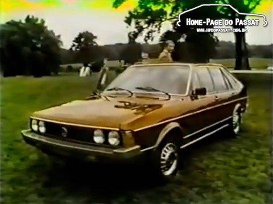 Comercial do VW Dasher 1979