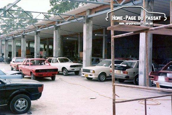 Oficina onde o Passat Dacon era produzido