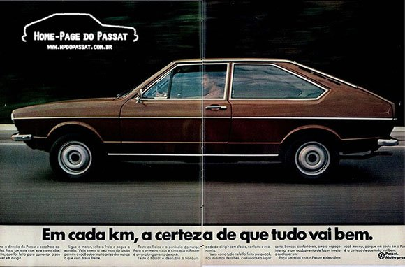 Propaganda do Passat - 1974
