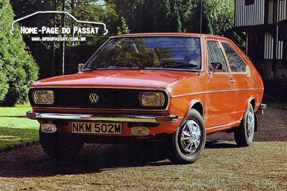 Passat equipado com acessórios oficiais VW - Reino Unido, 1973