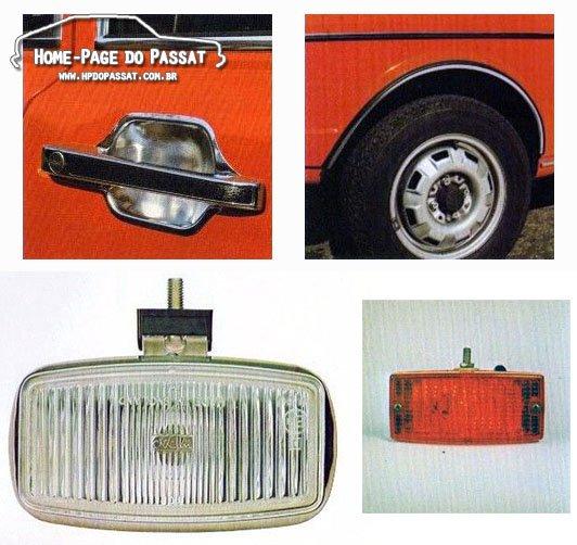 Acessórios VW para o Passat - Reino Unido, 1973