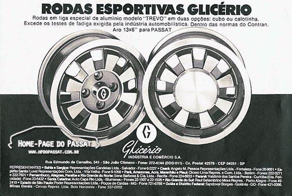 Rodas Glicério - Março de 1979