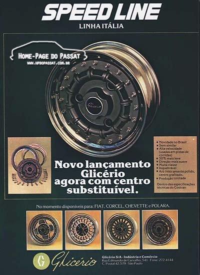 Rodas Glicério, linha Itália - Agosto de 1980