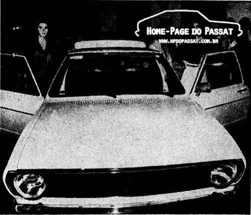 Lançamento do Passat em Recife: 25 de julho de 1974