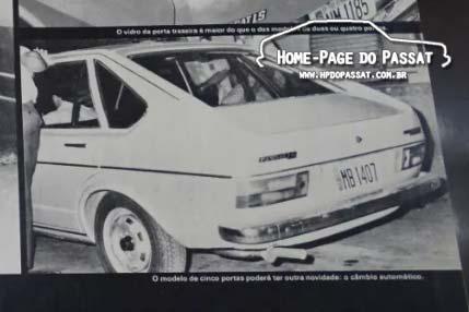 Quatro Rodas nº 184 - Passat automático
