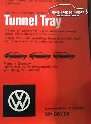 Console para Passat: Volkswagen da Alemanha
