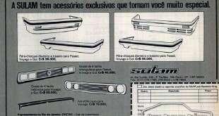 Acessórios Sulam 1983