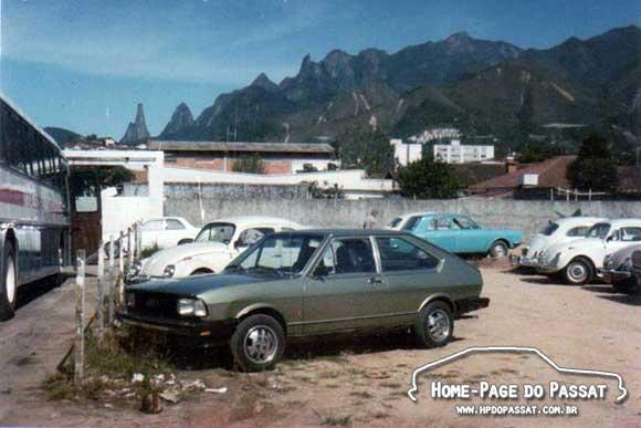 Fotos Antigas de Teresópolis - Passat TS 1979
