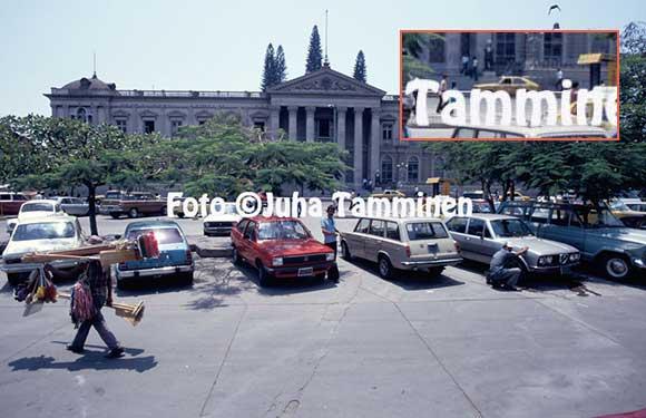 Gol e Passat em El Salvador - 1986