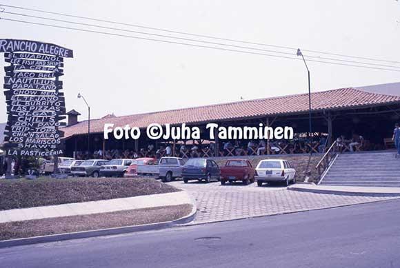 Passat Variant em El Salvador - 1986