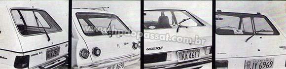 Kit de limpador traseiro Dyna-Speed Back
