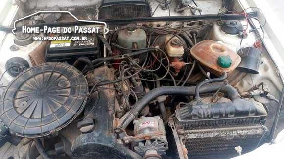 Passat Iraque 1985 - Motor