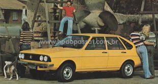 Acessórios para o Passat: África do Sul, 1977